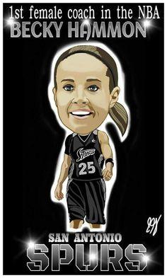 Spurs Assistant Coach Becky Hammon