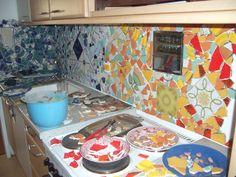 mosaic tile bat \ kitchen backsplash