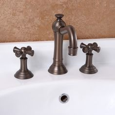 Strong faucet design