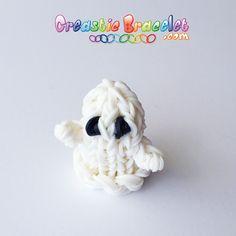 Apprenez à faire votre fantôme pour halloween sur www.CreasticBracelet.com