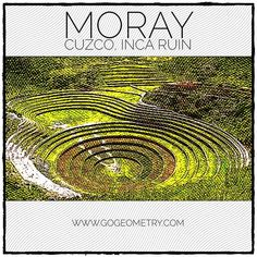 Concentric Circles in Moray Inca Ruin, Cuzco, Peru Circle Definition, Sat Prep, Cusco Peru, Math Tutor, South America Travel, Circles, Islands, Graphic Design, Explore
