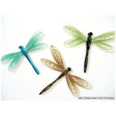 QUILLING - dragonfly