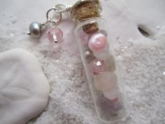 Items similar to Lake Erie Shores, Pink and Lilac Beach in a Bottle Necklace on Etsy – Beach glass jewelry Lilac, Pink, Glass Jewelry, Unique Jewelry, Cute Fairy, Bottle Necklace, Message In A Bottle, Lake Erie, Ring Bracelet