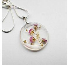 Joyas con flores naturales y resina - pic0