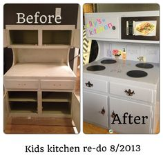 Kids kitchen re-do