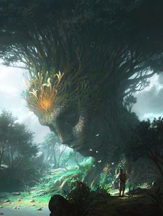 "madcat-world: "" Tree of Souls - Seobibaby ""                                                                                                                                                                                 More"