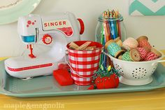 cute craft room idea