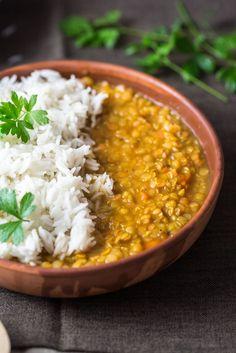 Curry de Lentilles WW - Plat et Recette - The Best Indian Recipes Veg Recipes, Indian Food Recipes, Italian Recipes, Vegetarian Recipes, Cooking Recipes, Healthy Recipes, Plats Weight Watchers, Weight Watchers Meals, Plats Healthy