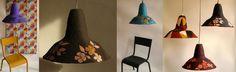 Suspension Bucolique, Collection Objets Trouvés, web shop : http://www.boutiqueobjetstrouves.fr/objets-pour-%C3%A9clairer/suspensions-bucoliques/  lampe, Suspensions luminaires - boutique objets trouves