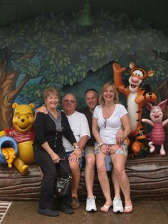 Being silly at Downtown Disney