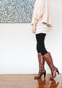 Cute boots and outfit