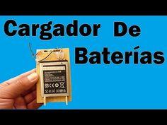 Cómo Hacer Un Cargador De Baterías (Muy fácil de hacer) - YouTube