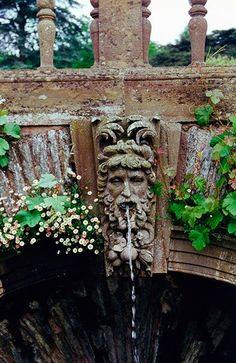Hestercombe Gardens Arch Fountain, Somerset , England; photo Doyle Herman Design Associates