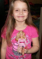 Emma the creator of the Diabetic Barbie concept!