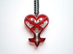Kingdom Hearts – Heartless Emblem Loggo Pendant Necklace