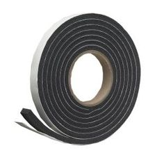 Frost King Vinyl Foam Tape 3//8 W Closed Cell Moderate Compression Brown 3//16 Thick 17 L