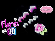 Manicure, 3d Rose, Learn Art, Beauty Nails, Nail Art Designs, Youtube, Frosting, Tutorials, Nail Bar