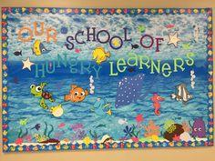 Back to School Bulletin Boards Ideas for Teachers finding Nemo back to school board
