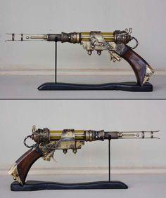 Kosmos brenner, optical raygun by WunderDark.deviantart.com on @deviantART