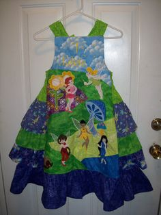 Pixie Hollow custom dress
