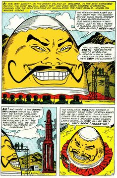Egg Foo, quite possibly the most racist villian ever to hit a DC comic.  Possilby...