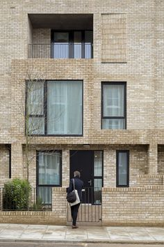 Build // Inventive Council Housing, Levitt Bernstein, Residential, Brick