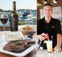 Clark S Seafood And Chop House Restaurants Bars Food Services Little River Sc
