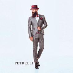Collezione 2016 Petrelli Uomo alta Cerimonia Eccentric Suits