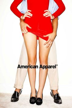 American Apparel. This is hilarious