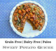 Sweet Potato Quiche - GrokGrub.com