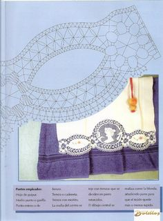 Labores de Bolillos 02 Bobbin Lace Patterns, Points, Women, Macrame, Bobbin Lace, Hand Fans, Pictures, Needlepoint, Shawl