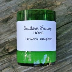 SOY WAX CANDLE   Farmer's Daughter