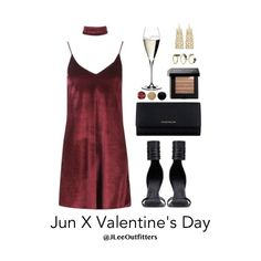 Valentines Day with Jun – Valentines Day Gift Ideas Night Outfits, Dress Outfits, Girl Outfits, Casual Outfits, Valentines Day Outfits Casual, Valentines Day Dresses, Other Outfits, Outfits For Teens, Valentine's Day Outfit