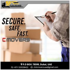 Click Movers has been in the market for 18 years. You can be tension free with our experienced team of professional movers. We take extreme care of your belongings and make sure we are up to the mark and above every time we serve our customers.