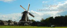 Portrait of a 150 years old windmill located in the Netherlands. Made with appreciation for the volunteers that continue to maintain the mill. De Leemansmolen is een korenmolen in Vriezenveen en bestaat 150 jaar.  http://www.leemansmolen.nl    De molen is in 1862 gebouwd in opdracht van Hendrik Leemans. De molen was vroeger ook als pelmolen ingericht.