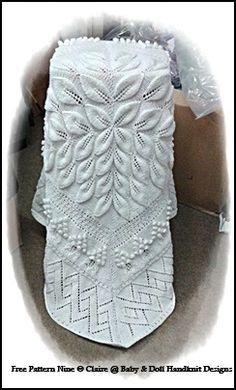 FREE Leafy Lacy Shawl Knitting Pattern-shawl