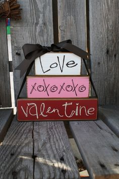 Valentine's Day | Love | xoxoxo | Decoration