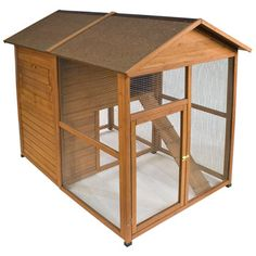 Ware Premium + Chick-N-Lodge Chicken Coop - Up to 4 Chickens - Go Shop Pet Supplies