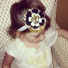 New Orleans Saints by SunshineGirlCreation on Etsy, $15.99