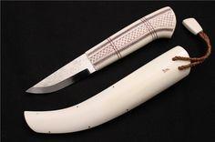 Saami knife by Bertil Lundberg.