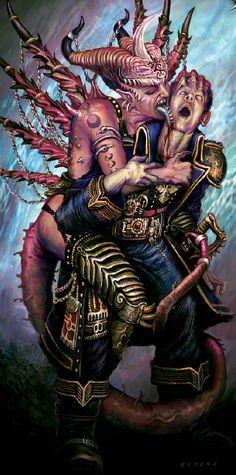Warhammer 40000,warhammer40000, warhammer40k, warhammer 40k, ваха, сорокотысячник,фэндомы,Slaanesh,Chaos (Wh 40000)