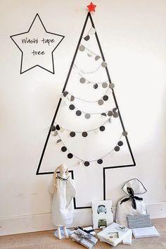I want pretty: #DIY-8 ideas creativas para hacer tu árbol de #Navidad.