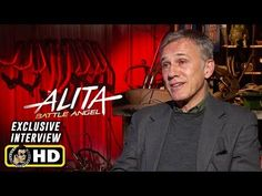 Christoph Waltz Interview for Alita: Battle Angel Shakira, Christoph Waltz, Latest Movie Trailers, Famous Last Words, Slim Fit, Battle, Interview, Hollywood, Angel