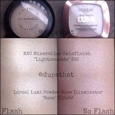 MAC Lightscapade Dupe