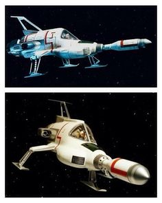 UFO Interceptors -- they fly, they blow their load and - infrequently - hit something and not get hit.