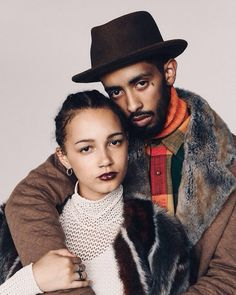 """Ben Grieme for Fader Magazine Fall 2014, """"Fuzzy Feelings"""" #HighFashion #Fashion #BlackFashion #African #AfricanFashion #Beautiful #Model #BlackModel #BlackCouple #AfricanModel #Cute #CuteCouple #FallTime #Black #Color #Colorful #LipStick #Earrings #Fur #Hat #Rings #NoseRing #Colors #Prints #Jewelry #Amazing #Light #Dark #Bright #BrightColors #Natural #Pinterest #Sol #Afrik #SolAfrikFW #SolAfrik #Instagram #Facebook #Tumblr #Twitter #BrightPrints #NaturalHair"""