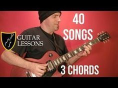 40 EASY EASY Rock Songs, THREE Chords! - Guitar Lesson ( With Printable Tabs! ) - YouTube