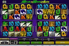 Win upto 100 free Spins with 'Break da Bank Again' Slots at #JackpotCityCasino:- Powered by #Microgaming #BreakdaBankAgain is the sequel of the original Break da Bank #onlineslots. The difference between these two versions is that the previous version was #3reel and the new one i.e Break da Bank Again is a #5reel, 9 #paylineSlots. The game has four rounds which offers 25 free spins at each level with a total of 100 #freespins after the last round.