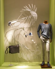 Hermes window display by Design Systems Ltd China 03 Hermès window display by Design Systems Ltd, China
