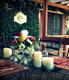 Perfect spot for al fresco dining!